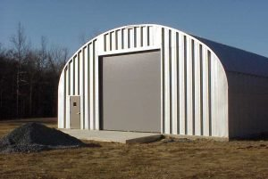 American Steel Buildings Quonset Building