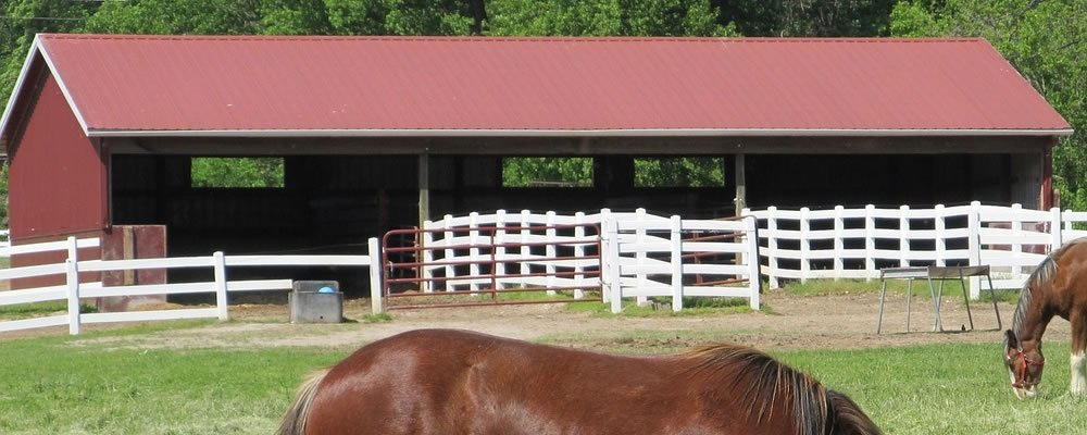 Setting Up Horse Barn Kits In No Time: Taking Advantage Of Metal Buildings