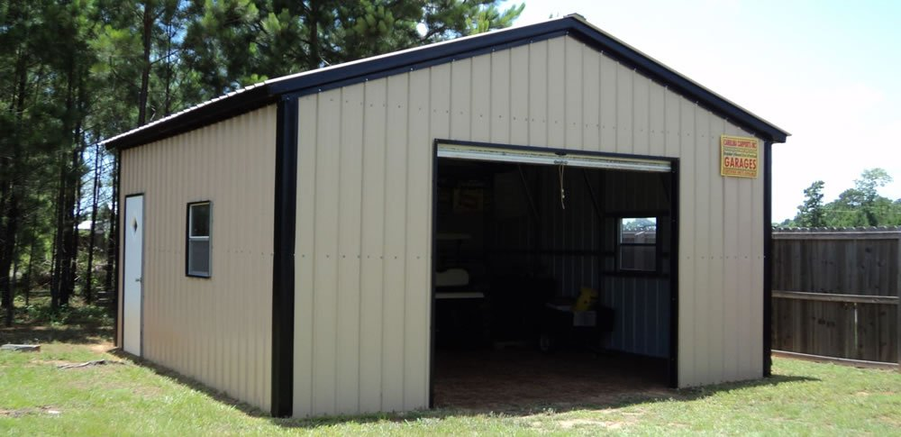 Steel Garage Kits For Your Home